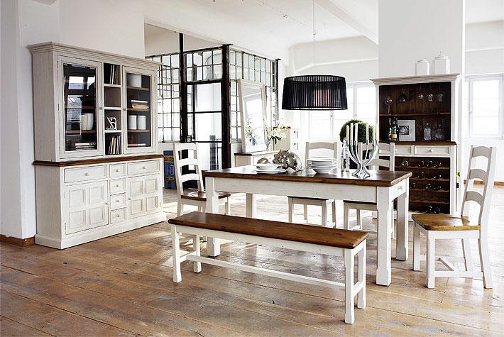 Masívny provensálsky nábytok
